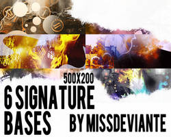 Signature Bases by Miss-deviantE