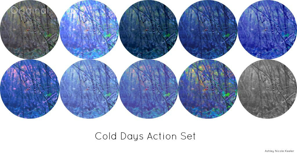 Cold Days Action Set by Aay13