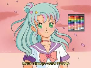 Retro Shoujo Color Palette (Download)