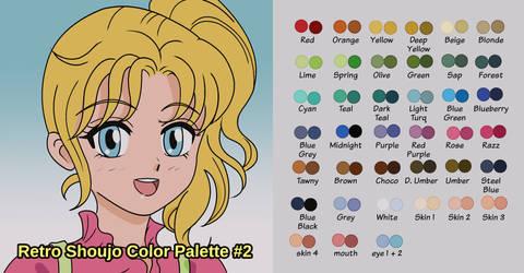 Retro Shoujo Color Palette #2 (Download)