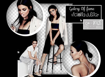 Pack png : Victoria Justice by Galleryoffame