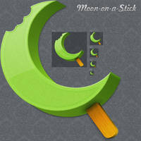 Moon on a Stick by iTweek