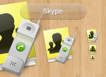Skype icon by iTweek