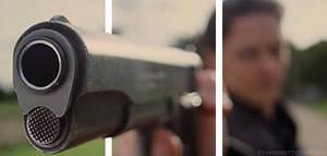 Xavier and Gun: 3D gif