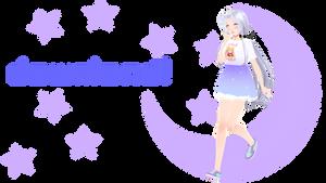 {MMD - TDA} Pastel Moon Stardust {Download}