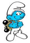 Smurfs: The Lost Village- Hefty Smurf