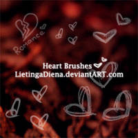 Heart Brushes by LietingaDiena