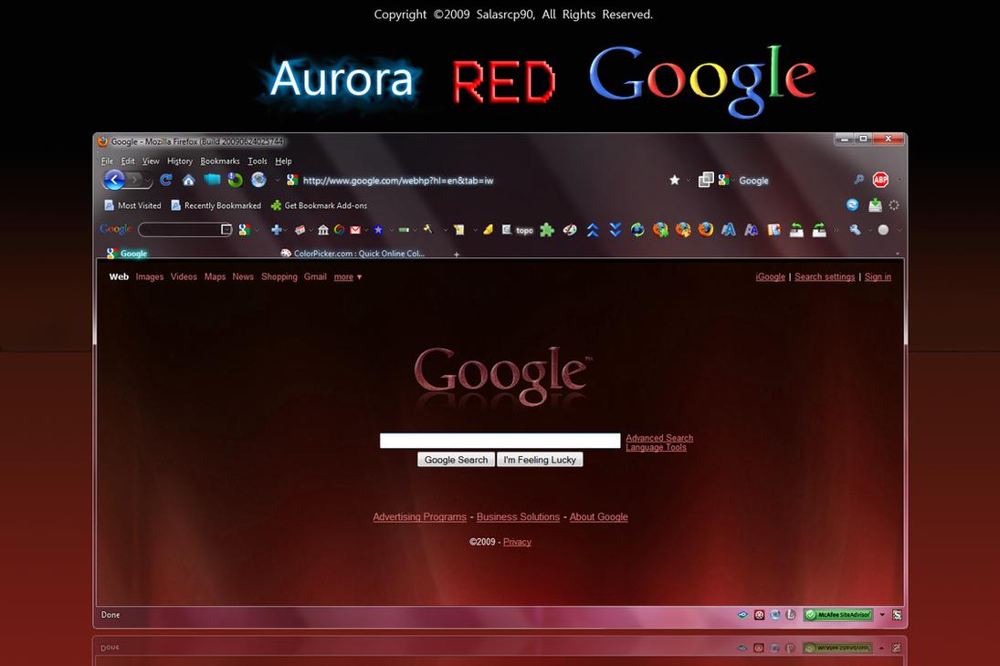 aurora red google by salasrcp90 on deviantart