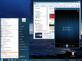 Windows 7 Basic Dark Blue