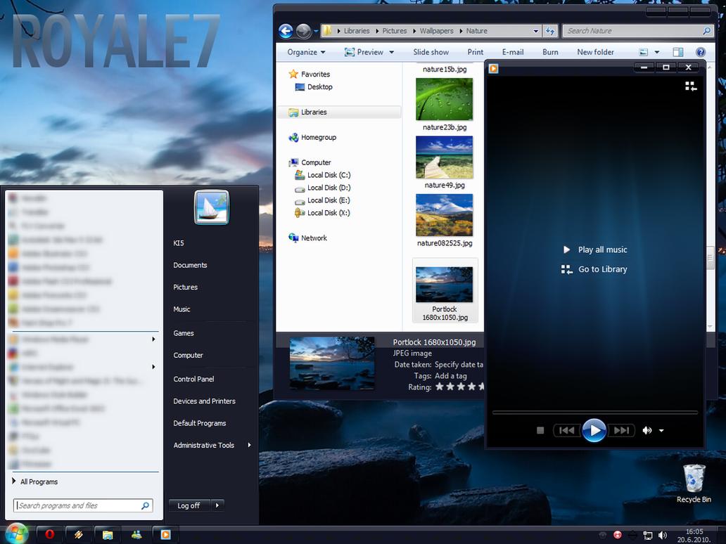 Windows 7 Basic Royale7 by Kipet
