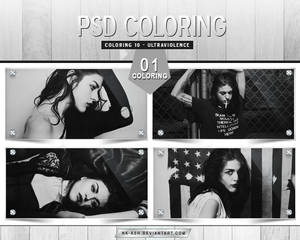 Coloring 10 - Ultraviolence