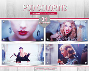 Coloring 12 - Blank Space