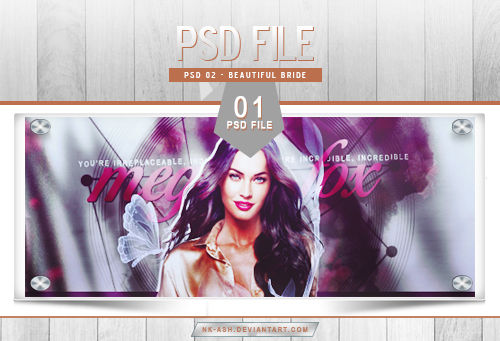 PSD File 02 - Beautiful Bride