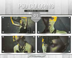 Coloring 26 - Hallelujah by nk-ash