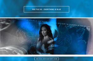 PSD File 05 - Everything is blue by nk-ash