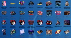 Batman Comic folders