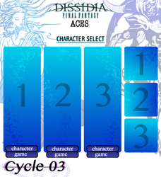 DISSIDIA ACES CYCLE 03: APPLICATION FORM by xDrifterr