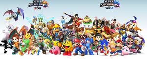 Super Smash Bros. 4 roster