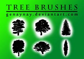 Tree Photoshop Brushes by GENAYNAY