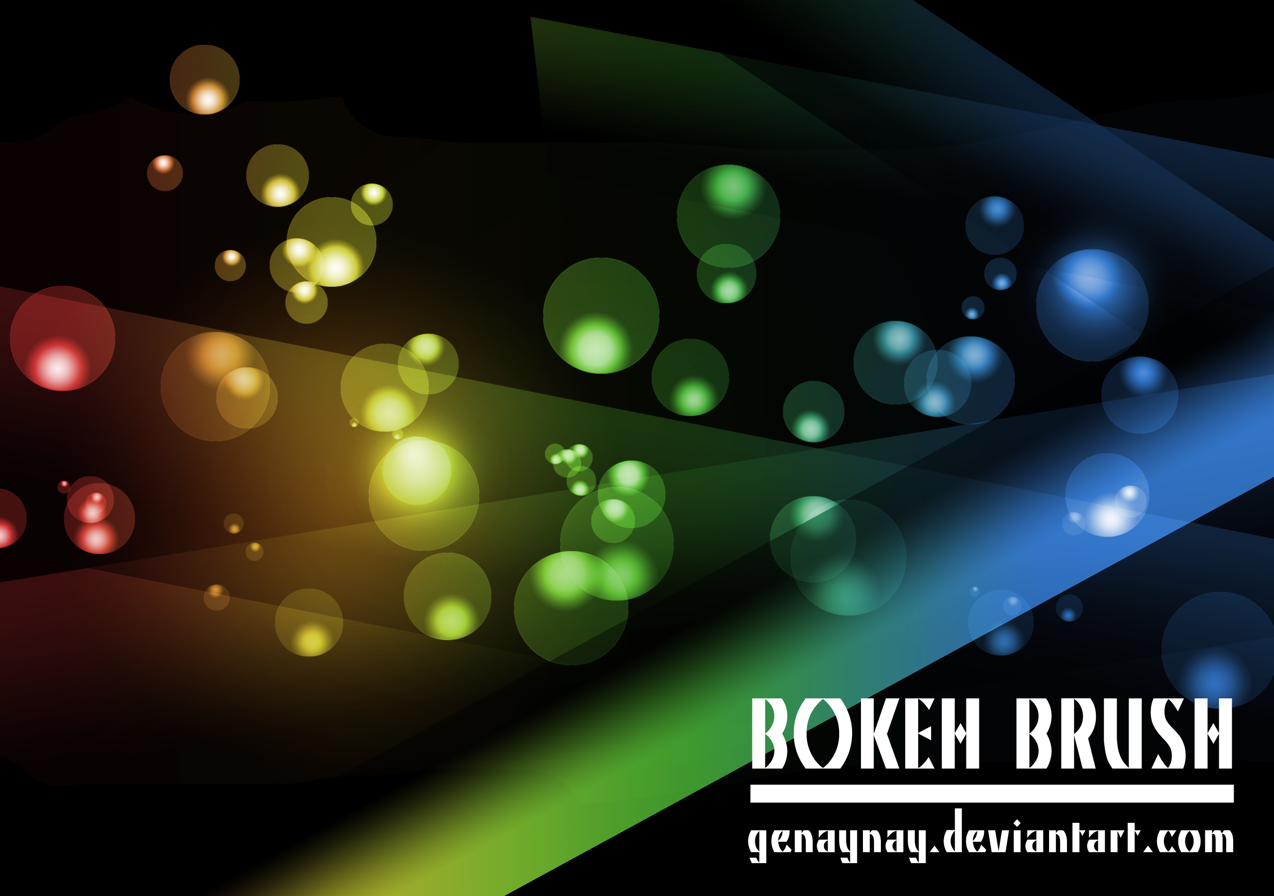 Bokeh Brush by GENAYNAY