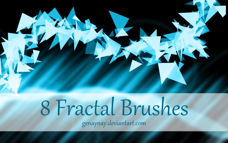 Fractal Photoshop Brushes by GENAYNAY