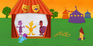 Inside Shadow Puppet Theater