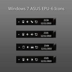 Windows 7 ASUS EPU-6 Icons