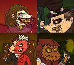 Batman Rogues Gallery Animation Gif 1
