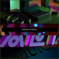 C4d Text tutorial by xALIASx