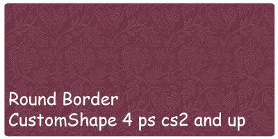 Vintage border customshape by xALIASx