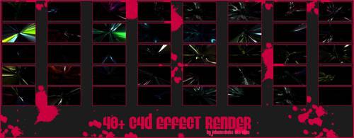 CGFX C4D effect render pack 1