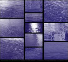Water (Sea) Brushes by Esmeralda-stock