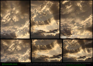 Sunset Clouds Stock Pack