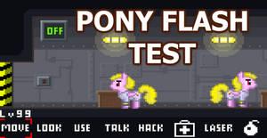 Pony Flash Test Game
