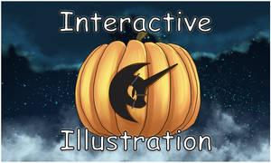 Halloween Fluttershy Interactive Illustration