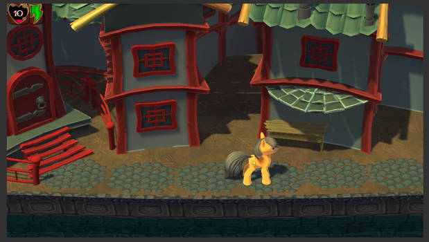Pony 3D Experimental Tech Demo created by Unity3d
