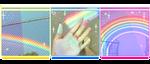 Rainbow Divider by StarryWave