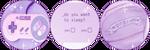 Purple Pastel Divider by StarryWave
