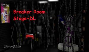 MMD/FNAF-SL Breaker Room Stage Download by KingTigerStar