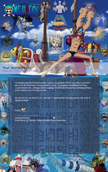 One Piece Journal Skin by Rubber-Band-Of-Doom