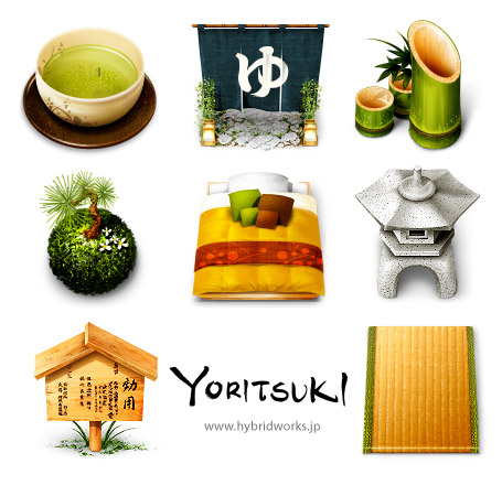Yoritsuki icons for MacOS