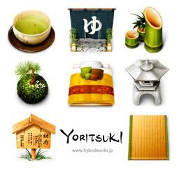 Yoritsuki icons for MacOS by HYBRIDWORKS