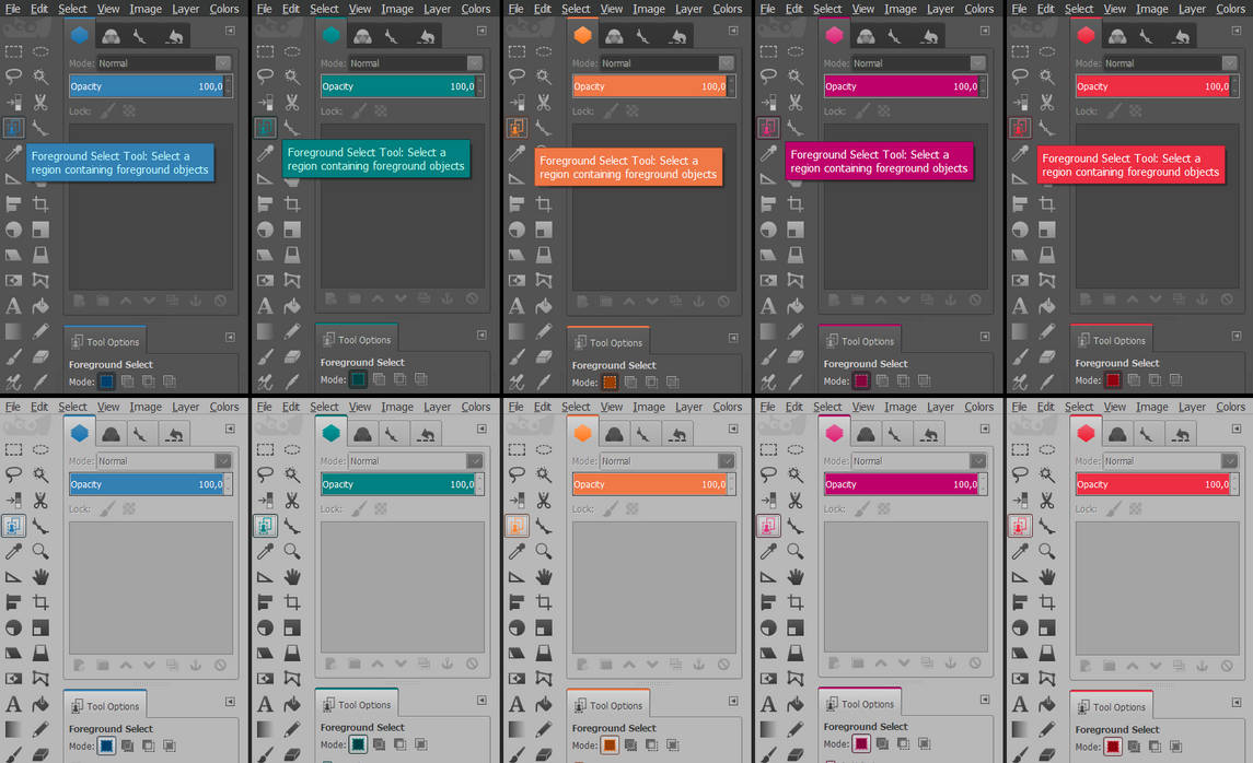 Clearlooks Flat Icons Gimp 2 8 Themes v 1 0 1 by migf1 on DeviantArt