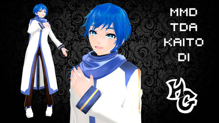 MMD TDA Kaito DL by HellGirl66618