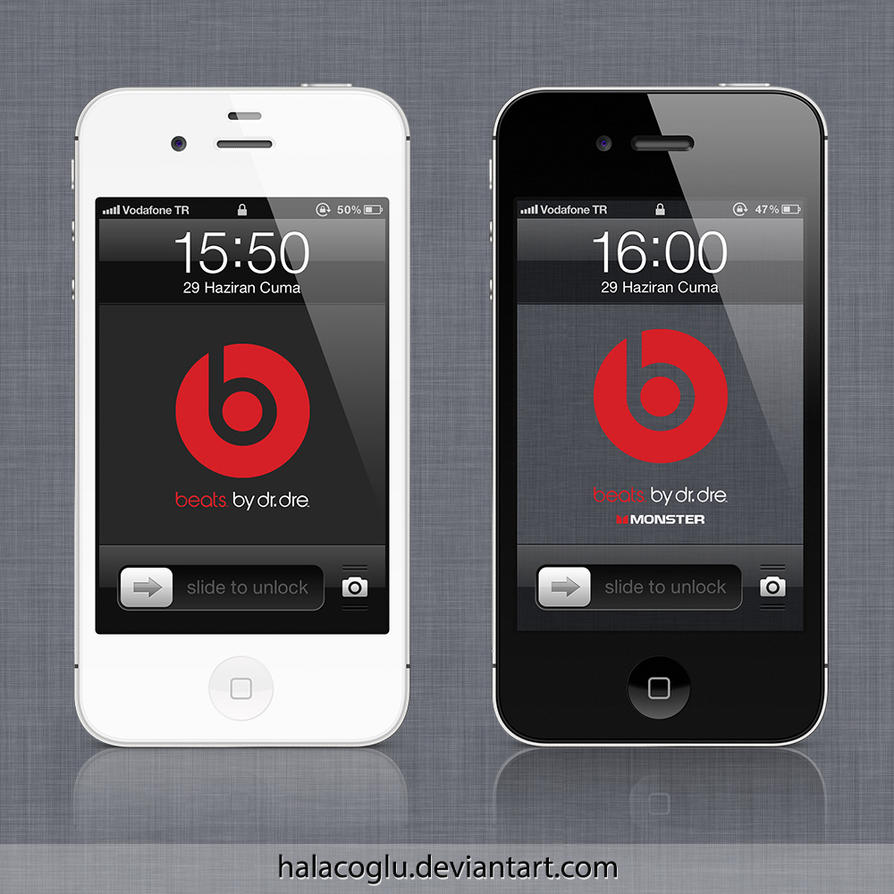 Beats by Dr. Dre for iPhone - iPod Touch by halacoglu