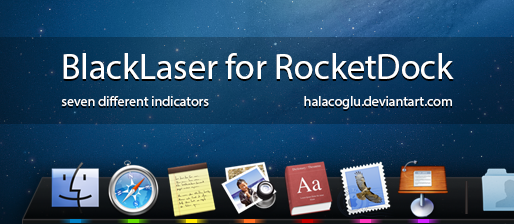 BlackLaser for RocketDock by halacoglu