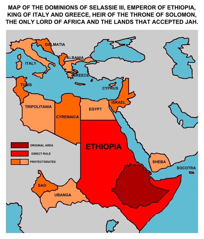 Ethiopian Empire by Leoninia on DeviantArt
