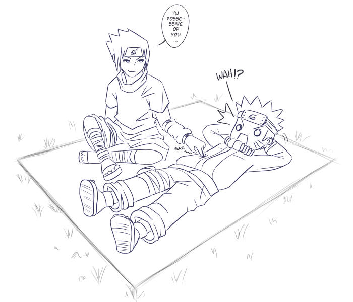 Naruto: Possessive by darkskysong on DeviantArt