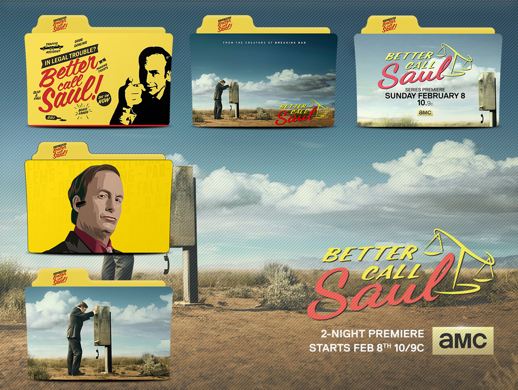 Better Call Saul Folder Icons by CHARGERLEVANI