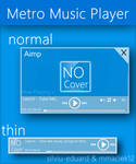 Metro UI : Metro Music Player v2